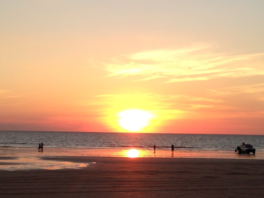 Sat April 4  -  Hello to Broome...it's hot here! (2/3)