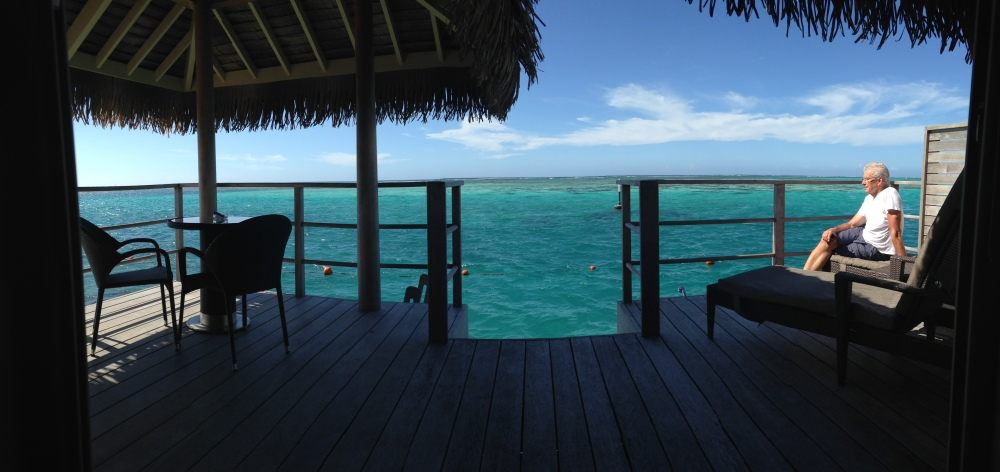 Moorea, Tahiti  -  and it's still Fri April 24th!